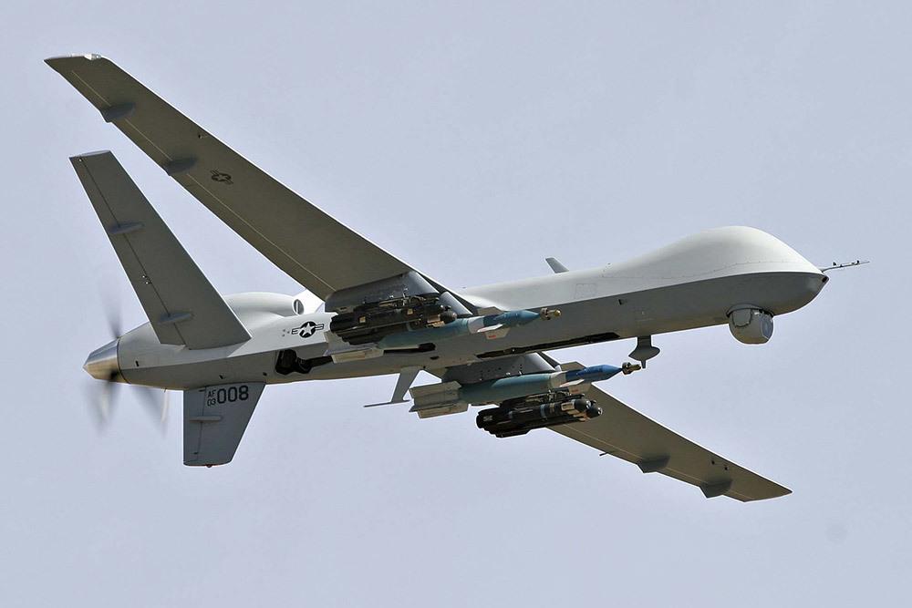 MQ-9 Reaper с DАS-4