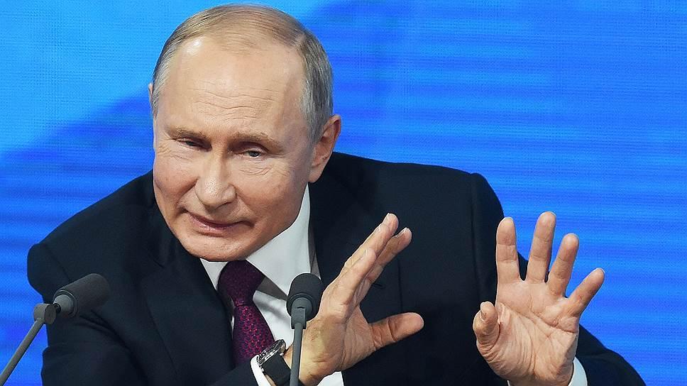 Президент у микрофонов