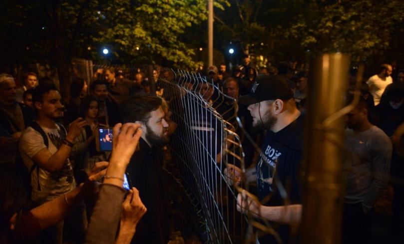 Противостояние в сквере Екатеринбурга