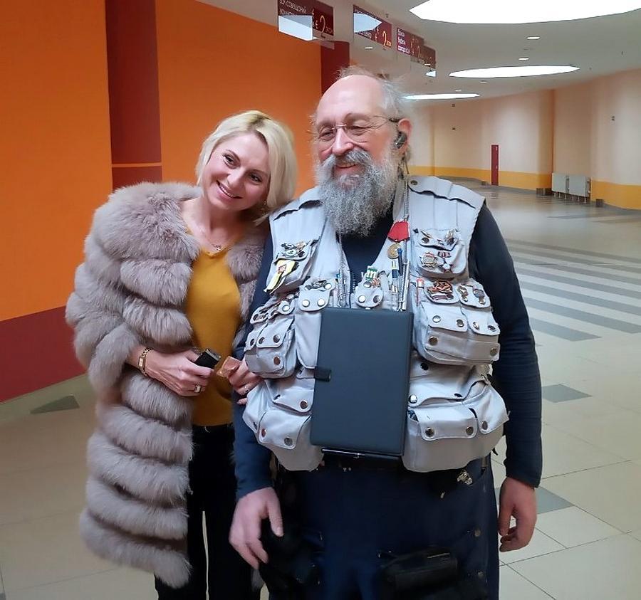 Вассерман с журналисткой