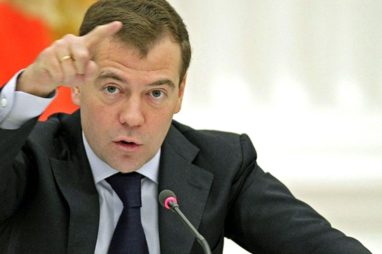 Выступающий Медведев
