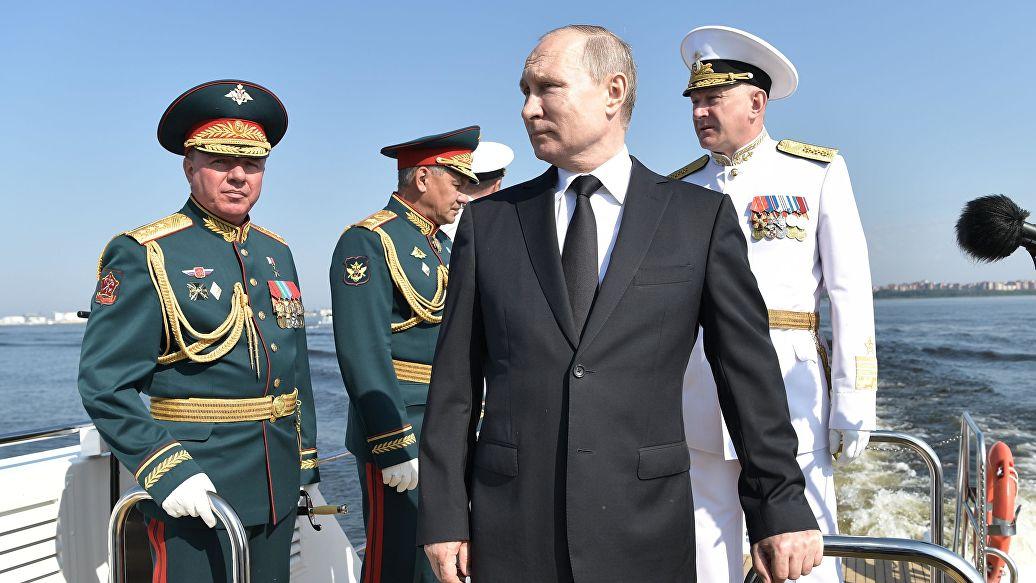 Картинки по запросу Путин на дне вмф 2020