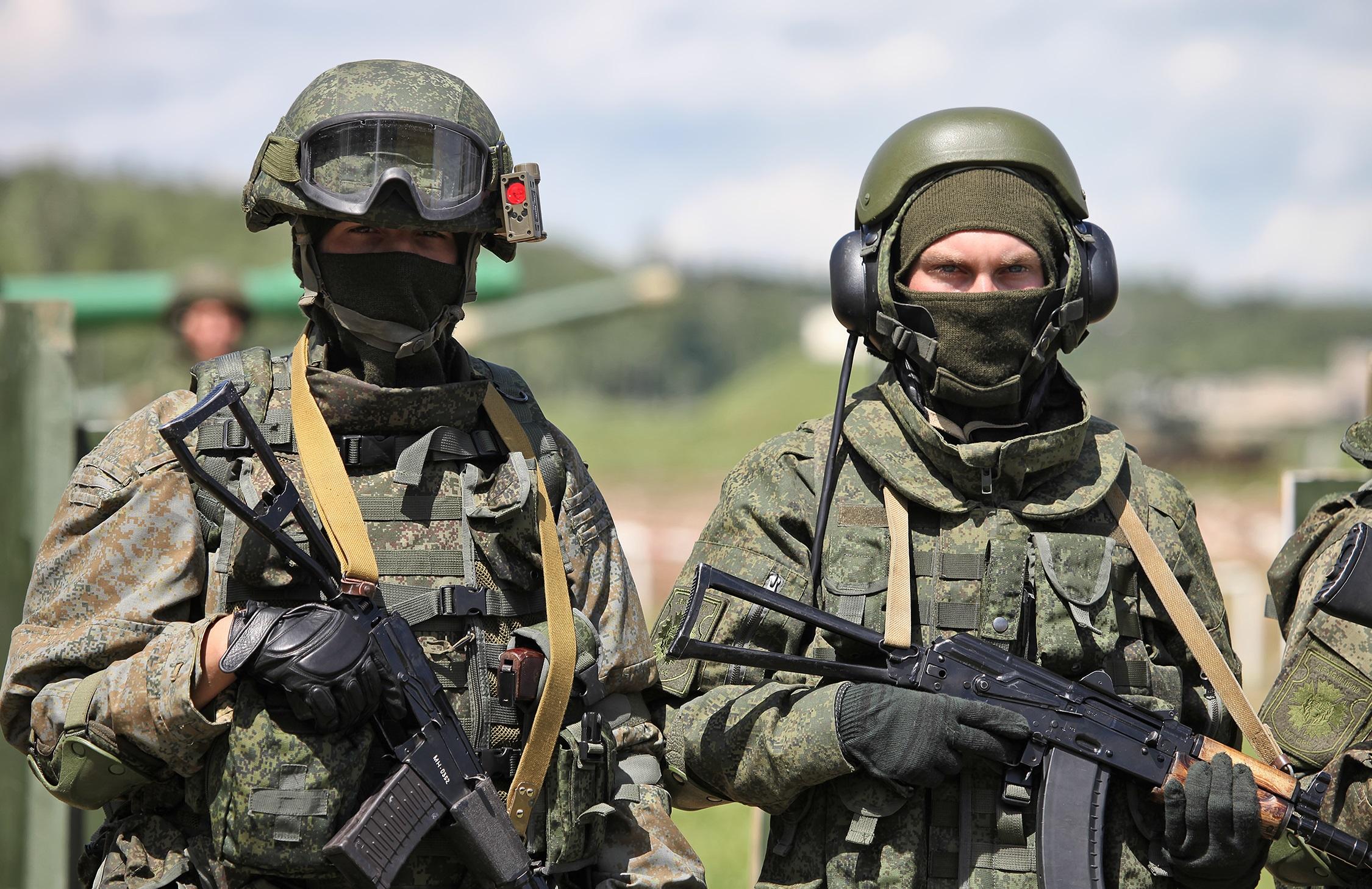 Экипировка пехоты России