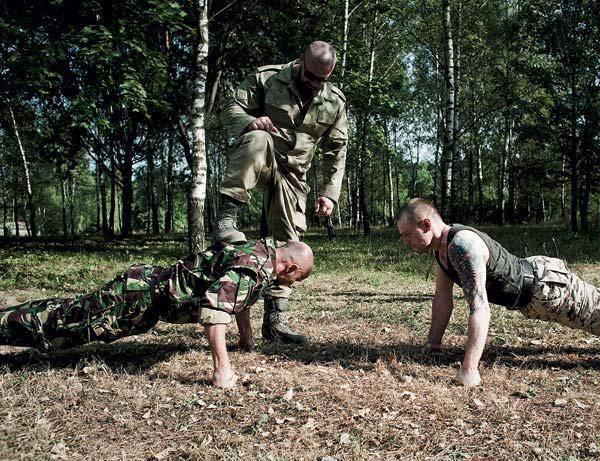 Физподготовка спецназа