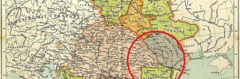 Земли княжества Валахия и Молдавия