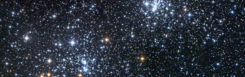 Взгляд на бескрайние просторы космоса с Земли