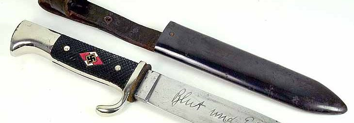 Нож Гитлерюгенда образца 1933 года