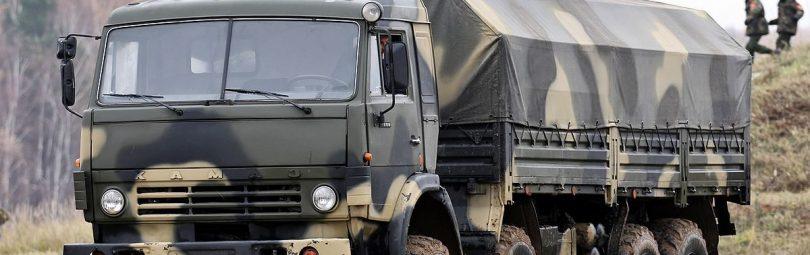 Полноприводный КамАЗ-6350 - армейский вариант