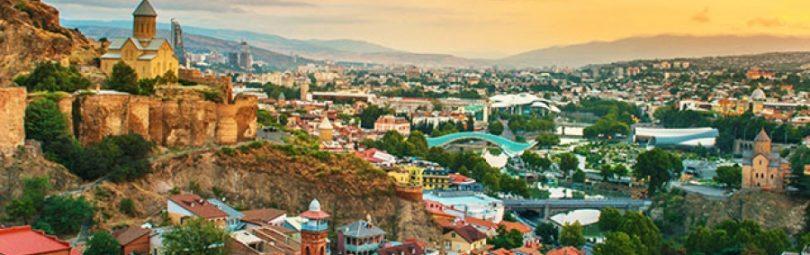 Грузинский город