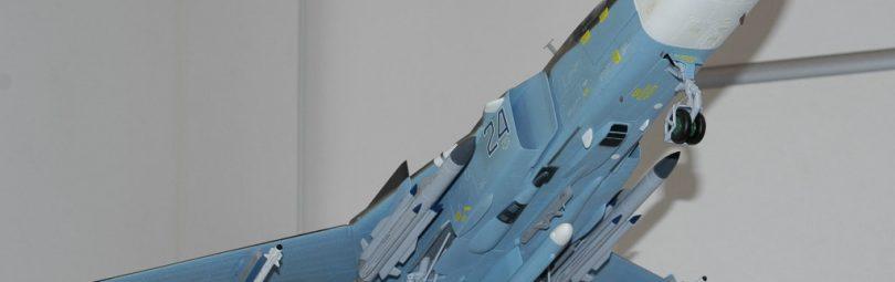 Макет Су-24