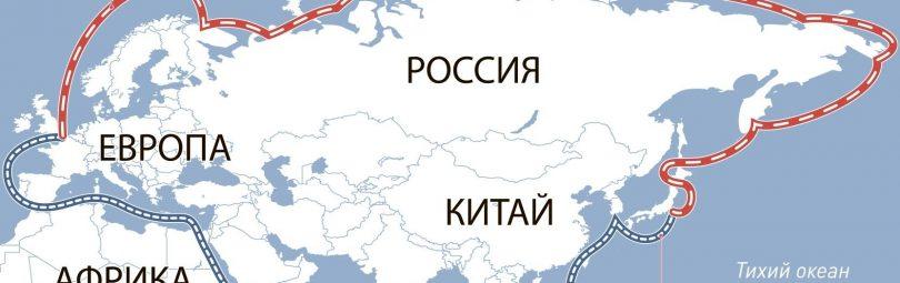 Карта морских путей