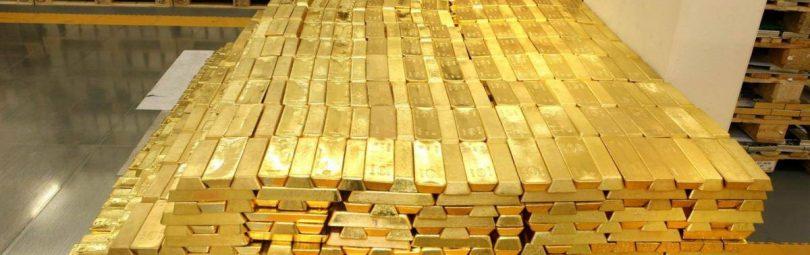 Золото в хранилище
