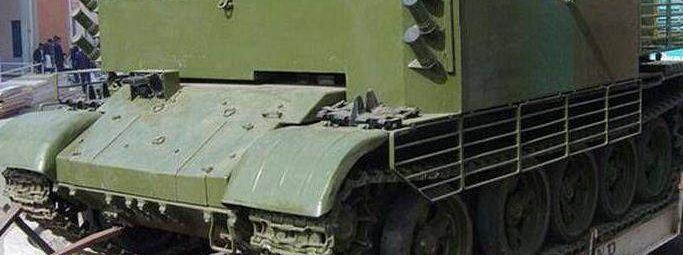 Спецтехника из Т-55