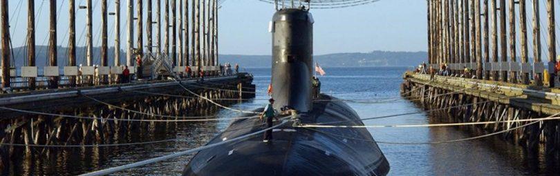 К-329 в воде