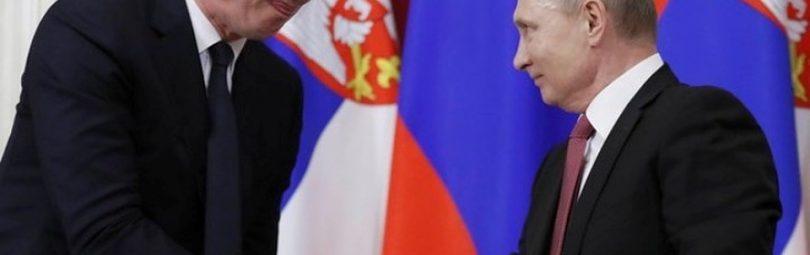Вучич и Путин