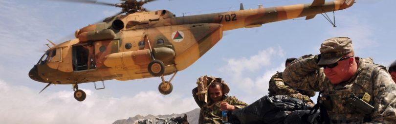 Ми-17В-5 в Афганистане