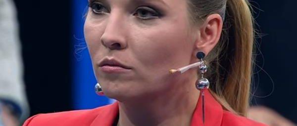 Телеведущая Скабеева