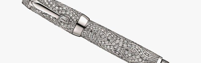 Ручка с бриллиантами