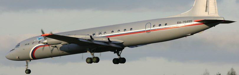 Ил-18 223-го лётного отряда