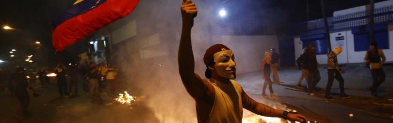 Бунт в Венесуэле
