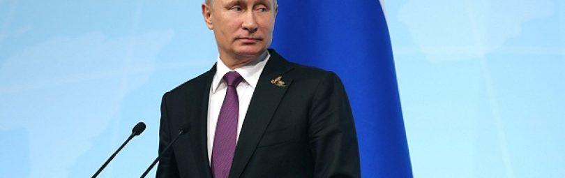 Президент РФ у микрофонов