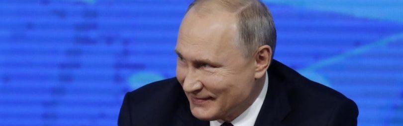 Президент России у микрофонов