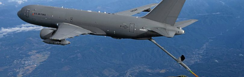 KC-46A Pegasus will be replacing the fleet of KC-10 Extender Refueling tanker at Travis Air Force Base.