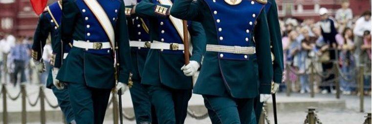 Служба в президентском полку