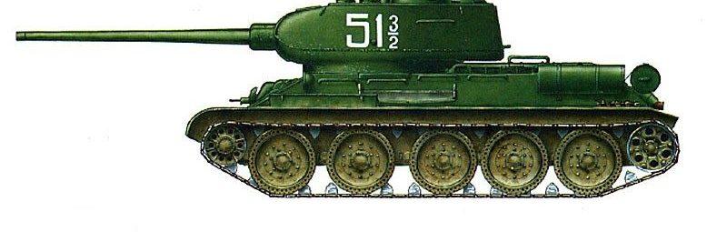 Танк Т-34-85