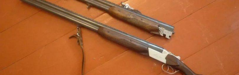 ТОЗ-34 и запасной ствол