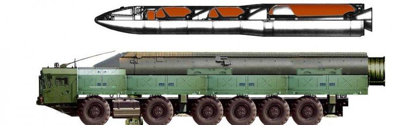 """Ракетный комплекс РС-26 """"Рубеж"""""""